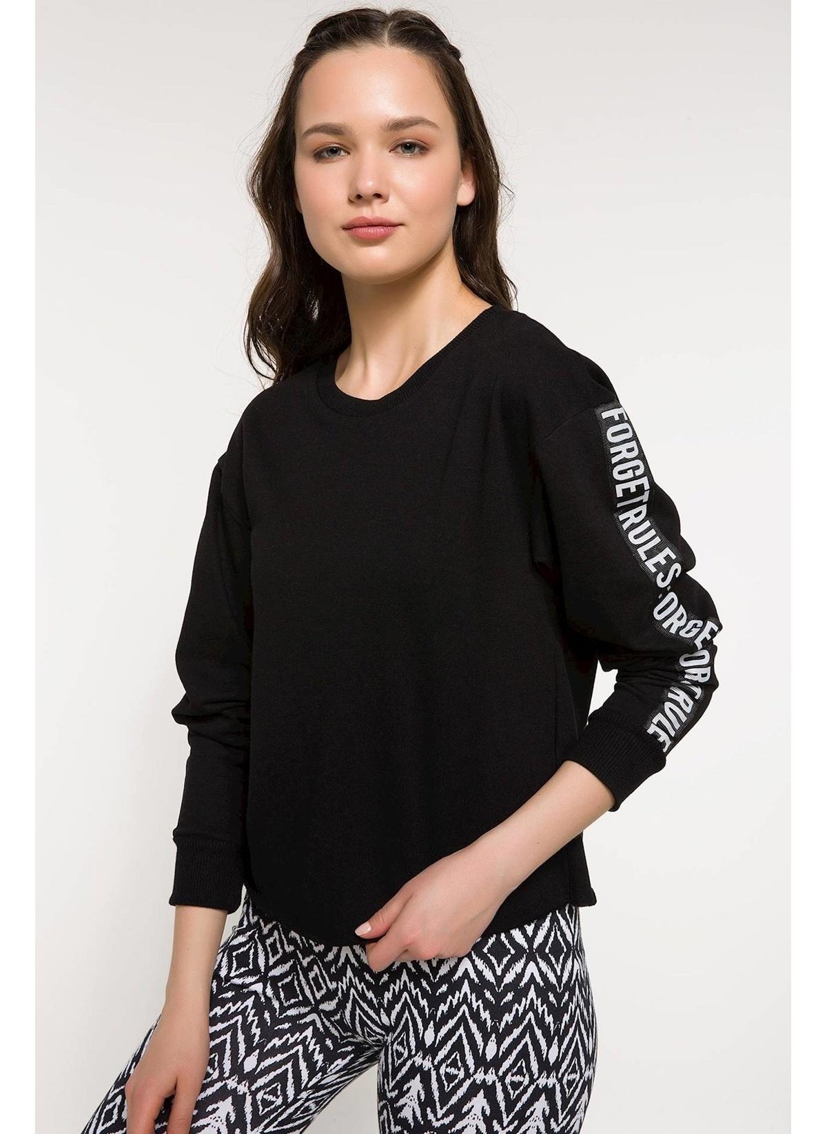 Defacto Kolları Yazı Baskılı Sweatshirt J3664az18smbk46sweatshirt – 34.99 TL